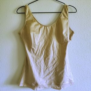 Spanx Slimplicity Tank in Nude Tan Size L
